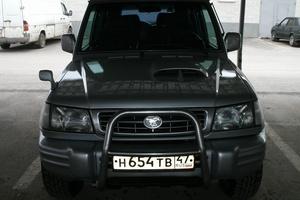 Автомобиль Hyundai Galloper, отличное состояние, 2001 года выпуска, цена 350 000 руб., Санкт-Петербург