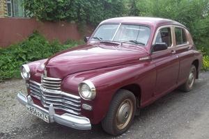 Автомобиль ГАЗ М-20 Победа, отличное состояние, 1955 года выпуска, цена 400 000 руб., Магнитогорск