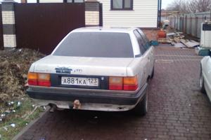 Подержанный автомобиль Audi 100, хорошее состояние, 1989 года выпуска, цена 58 600 руб., Ейск