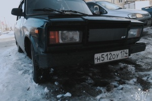 Подержанный автомобиль ВАЗ (Lada) 2107, хорошее состояние, 2004 года выпуска, цена 35 000 руб., Челябинск