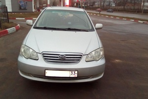 Автомобиль BYD F3, отличное состояние, 2008 года выпуска, цена 160 000 руб., Владимир