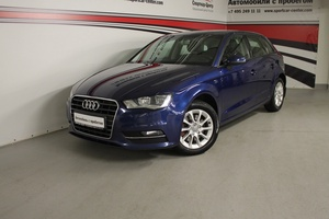 Подержанный автомобиль Audi A3, отличное состояние, 2013 года выпуска, цена 738 000 руб., Москва