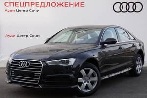 Новый автомобиль Audi A6, 2016 года выпуска, цена 2 090 000 руб., Сочи