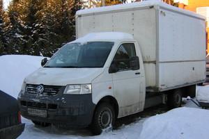 Подержанный автомобиль Volkswagen Transporter, хорошее состояние, 2007 года выпуска, цена 515 000 руб., Голицыно