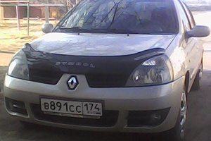 Подержанный автомобиль Renault Symbol, хорошее состояние, 2007 года выпуска, цена 190 000 руб., Троицк