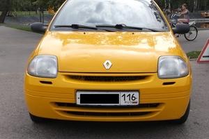 Подержанный автомобиль Renault Clio, хорошее состояние, 2002 года выпуска, цена 97 000 руб., Казань