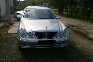 Подержанный автомобиль Mercedes-Benz E-Класс, хорошее состояние, 2002 года выпуска, цена 450 000 руб., Зарайск