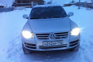 Автомобиль Volkswagen Touareg, хорошее состояние, 2006 года выпуска, цена 600 000 руб., Набережные Челны