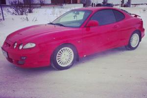 Подержанный автомобиль Hyundai Coupe, среднее состояние, 2000 года выпуска, цена 265 000 руб., Магнитогорск