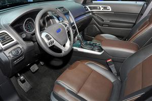 Автомобиль Ford Explorer, отличное состояние, 2012 года выпуска, цена 1 350 000 руб., ао. Ханты-Мансийский Автономный округ - Югра
