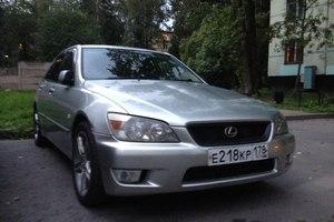Автомобиль Toyota Altezza, хорошее состояние, 2002 года выпуска, цена 280 000 руб., Санкт-Петербург