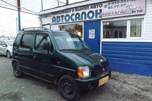Авто Suzuki Wagon R, 1999 года выпуска, цена 73 000 руб., Ижевск