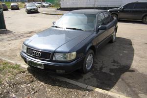 Автомобиль Audi 100, среднее состояние, 1992 года выпуска, цена 130 000 руб., Москва