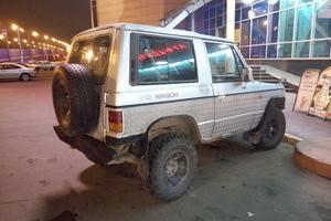 Автомобиль Hyundai Galloper, среднее состояние, 1995 года выпуска, цена 140 000 руб., Москва