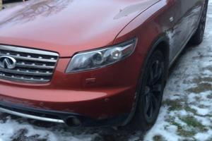Подержанный автомобиль Infiniti FX-Series, хорошее состояние, 2007 года выпуска, цена 700 000 руб., Коломна