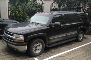 Подержанный автомобиль Chevrolet Suburban, отличное состояние, 2005 года выпуска, цена 1 700 000 руб., Москва
