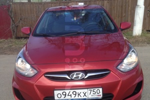 Автомобиль Hyundai Solaris, отличное состояние, 2011 года выпуска, цена 400 000 руб., Можайск