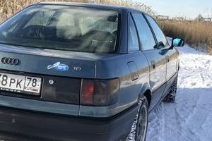 Автомобиль Audi 80, хорошее состояние, 1990 года выпуска, цена 150 000 руб., Санкт-Петербург