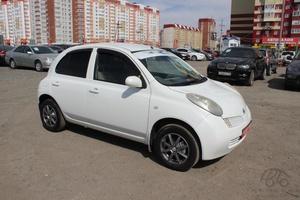 Авто Nissan March, 2002 года выпуска, цена 210 000 руб., Тюмень