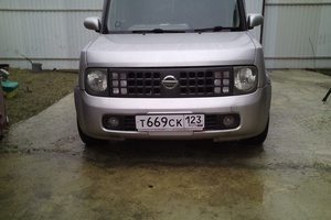 Автомобиль Nissan Cube, хорошее состояние, 2003 года выпуска, цена 200 000 руб., Краснодар