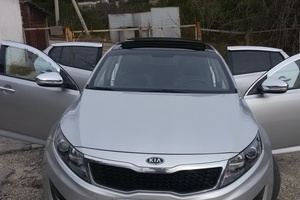Автомобиль Kia K5, отличное состояние, 2011 года выпуска, цена 750 000 руб., Симферополь