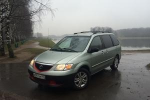 Автомобиль Mazda MPV, отличное состояние, 2002 года выпуска, цена 350 000 руб., Москва