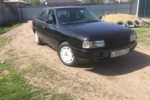 Подержанный автомобиль Audi 80, хорошее состояние, 1989 года выпуска, цена 95 000 руб., Краснодар