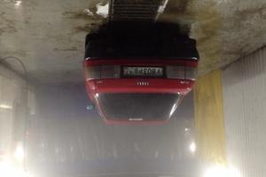 Автомобиль Audi 80, среднее состояние, 1990 года выпуска, цена 70 000 руб., Санкт-Петербург