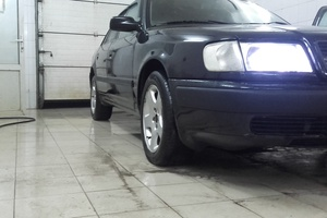Подержанный автомобиль Audi 100, отличное состояние, 1991 года выпуска, цена 150 000 руб., Вологда