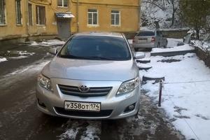 Подержанный автомобиль Toyota Corolla, отличное состояние, 2008 года выпуска, цена 400 000 руб., Златоуст