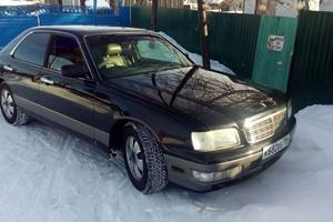Подержанный автомобиль Nissan Gloria, битый состояние, 1998 года выпуска, цена 199 000 руб., Нефтеюганск