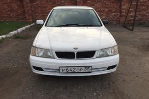 Автомобиль Nissan Bluebird, среднее состояние, 1996 года выпуска, цена 80 000 руб., Омск