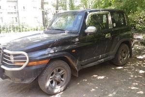 Автомобиль SsangYong Korando, хорошее состояние, 2002 года выпуска, цена 395 000 руб., Пермь