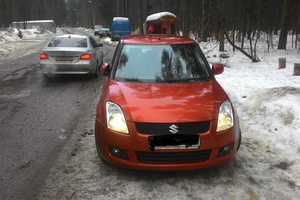 Подержанный автомобиль Suzuki Swift, среднее состояние, 2007 года выпуска, цена 250 000 руб., Пушкино