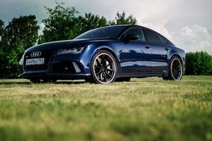 Автомобиль Audi RS 7, отличное состояние, 2014 года выпуска, цена 5 890 000 руб., Новосибирск