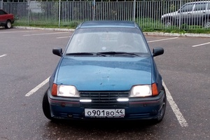 Автомобиль Opel Kadett, среднее состояние, 1987 года выпуска, цена 60 000 руб., Кострома