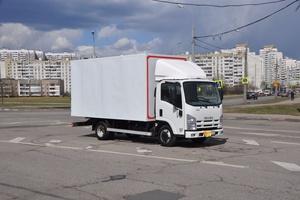 Автомобиль Isuzu N-Series, отличное состояние, 2014 года выпуска, цена 1 180 000 руб., Москва