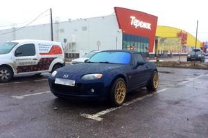 Автомобиль Mazda MX-5, битый состояние, 2008 года выпуска, цена 575 000 руб., Санкт-Петербург