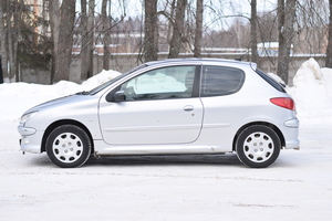 Подержанный автомобиль Peugeot 206, хорошее состояние, 2007 года выпуска, цена 199 000 руб., Дмитров