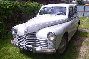 Автомобиль ГАЗ М-20 Победа, среднее состояние, 1953 года выпуска, цена 230 000 руб., Тула