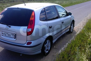Автомобиль Nissan Almera Tino, хорошее состояние, 2001 года выпуска, цена 170 000 руб., Москва