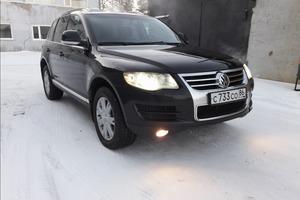 Автомобиль Volkswagen Touareg, отличное состояние, 2008 года выпуска, цена 899 999 руб., ао. Ханты-Мансийский Автономный округ - Югра