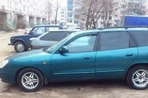 Автомобиль Daewoo Nubira, битый состояние, 2000 года выпуска, цена 50 000 руб., Вологда