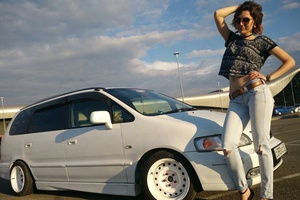 Автомобиль Honda Odyssey, хорошее состояние, 1996 года выпуска, цена 270 000 руб., Краснодарский край