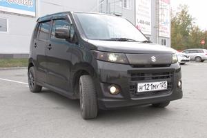 Автомобиль Suzuki Wagon R, отличное состояние, 2012 года выпуска, цена 389 000 руб., Омск