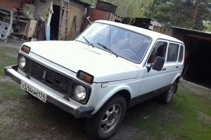 Подержанный автомобиль ВАЗ (Lada) 4x4, среднее состояние, 2003 года выпуска, цена 133 000 руб., Челябинская область
