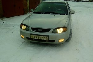 Автомобиль Kia Shuma, хорошее состояние, 2001 года выпуска, цена 175 000 руб., Калужская область