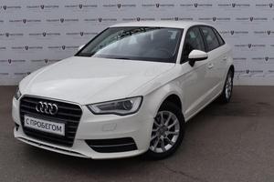 Подержанный автомобиль Audi A3, отличное состояние, 2014 года выпуска, цена 835 000 руб., Москва