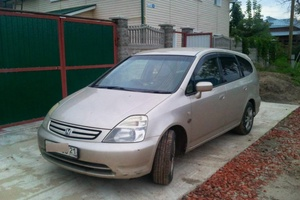 Автомобиль Honda Stream, хорошее состояние, 2003 года выпуска, цена 280 000 руб., республика Чувашская - Чувашия