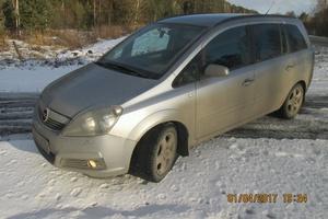 Подержанный автомобиль Opel Zafira, хорошее состояние, 2007 года выпуска, цена 385 000 руб., Снежинск
